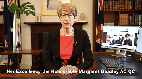 A message from Her Excellency The Honourable Margaret Beazley AO QC Governor of NSW, Life Member and long-time supporter of women lawyers and WLANSW. Please note date as 4 August 2020.